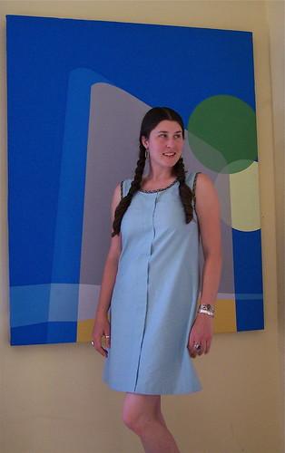 April's Sorbetto as a Dress!