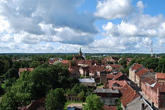 4 (Bargais) Tags: houses cloud nature landscape latvia latvija kuldiga kuldīga