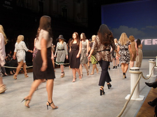 Myer's 'Big Is Beautiful' show at Mercedes Benz Fashion Festival