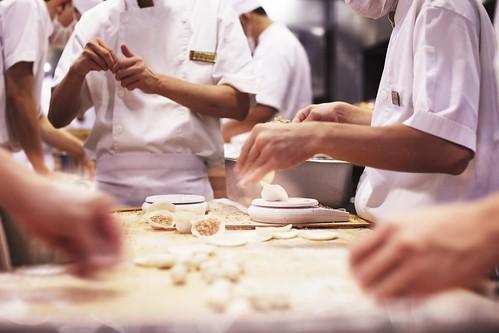 A Weekend A Photo - Making dumpling
