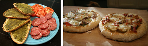 Pesto on Pizza or Toast