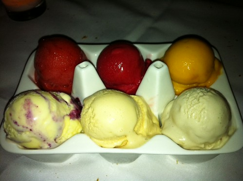 sorbet & icecream