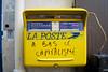A bas le capitalisme (Flats!) Tags: street paris france poste post politics protest frankrijk capitalism parijs lafrance laposte kapitalisme capitalisme anticapitalisme