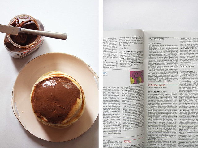 Pancakes and Magazines