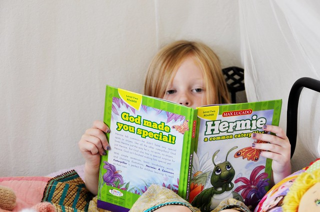 reading hermie...