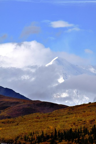 Mount McKinley, North America's Highest Mountain Peak, Denali National Park, Aug. 2011