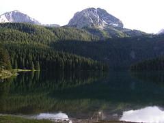 Black Lake - Crno Jezero (Jelena1) Tags: lake water landscape europe balkans montenegro blacklake glaciallake crnagora jezero durmitor crnojezero flickraward blinkagain