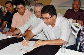 Discursos e assinaturas de ordens de serviço em Itapetim PE - CAPA by Portal Itapetim