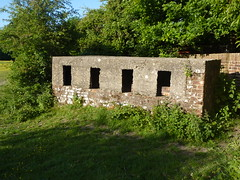 Unusual Pillbox (Worthing Wanderer) Tags: sussex path border emsworth forestofbere