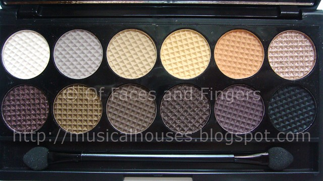sleek au naturel palette close up