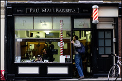 Pall Mall Barbers (jonron239) Tags: men london traditional haircuts westend shopfront barbers geezers