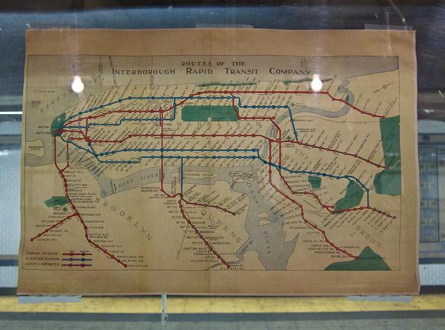 Boardwalk Empire Vintage NYC Subway Train Promo