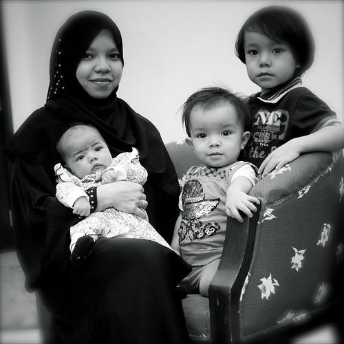 isteri dan anak2