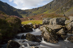 Corrie Fee (Christian Hacker) Tags: longexposure landscape scotland waterfall stream angus heather falls wilderness angusglens glenclova cairngorms cairngormnationalpark nationalnaturereserve canoneos400d corriefee