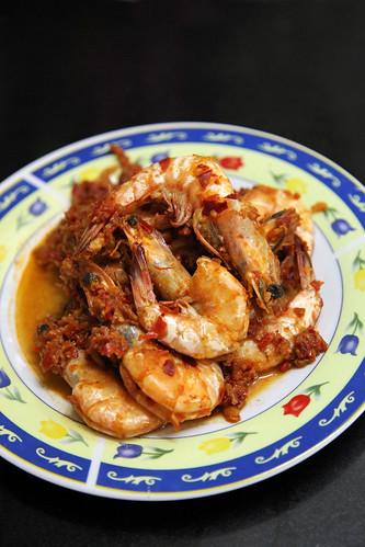 sambal prawns by melmok