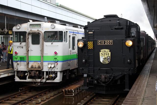 SLとかち号 帯広駅