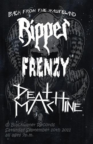 9/10/11 Ripper/Frenzy/DeathMachine