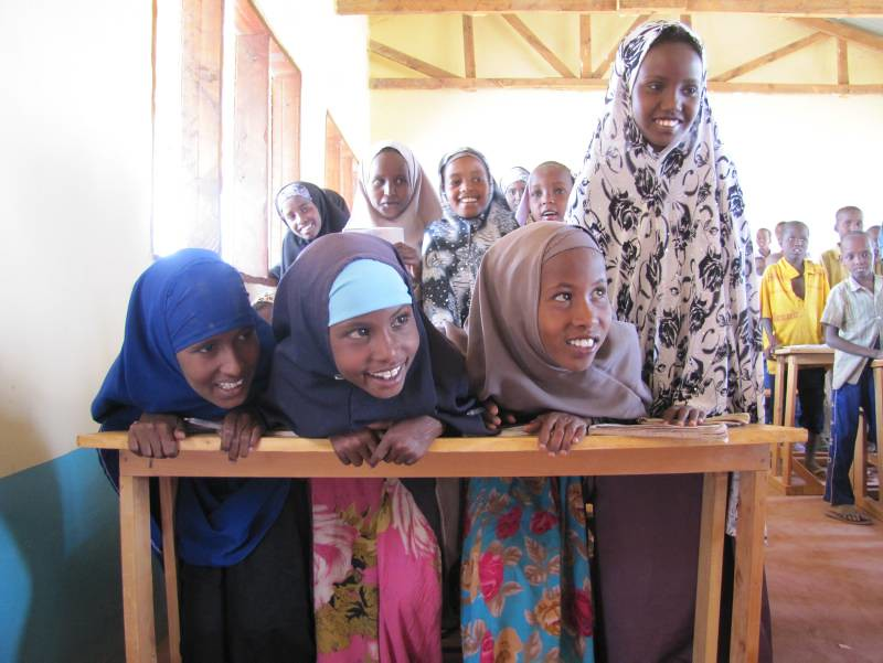 UNHCR News Story: Back to school in the world's largest refugee camp