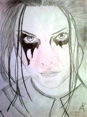 amy Lee drawing by adze55 (adze55) Tags: amy drawing lee blackpen