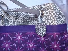 A bag tag