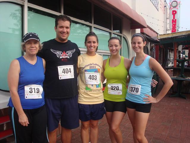Family pre-race