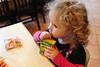 Juice (nateOne) Tags: 35mm restaurant toddler schnivic dottie iso1600 35mmf14 nikond700 160secatf40 focusdistance530mm