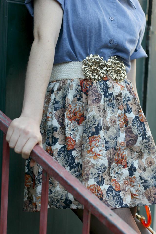 chambray shirt belt