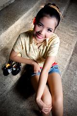 [フリー画像] 人物, 女性, アジア女性, フィリピン人, 201109140900