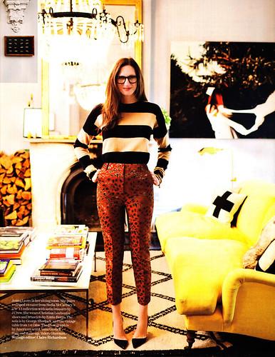 Jenna Lyons in British Vogue