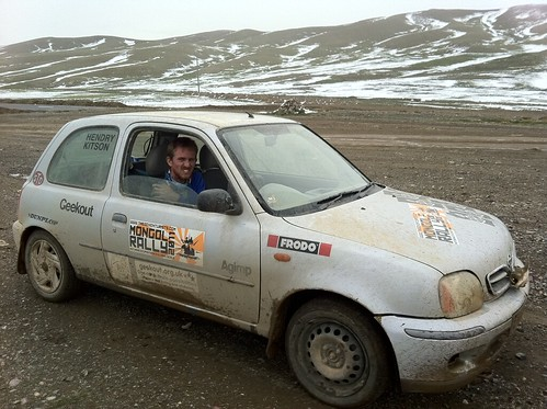 Cold in Mongolia