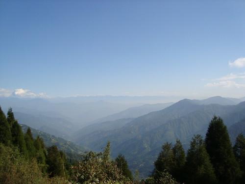 Panorama from Maneybhanjan