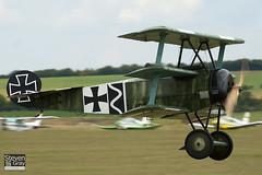 SE-XXZ - 1306 - Private - Fokker DR.1 Triplane Replica - 110710 - Duxford - Steven Gray - IMG_8055