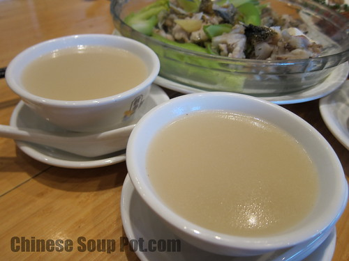 [photo-creamy milky white chinese fish soup]