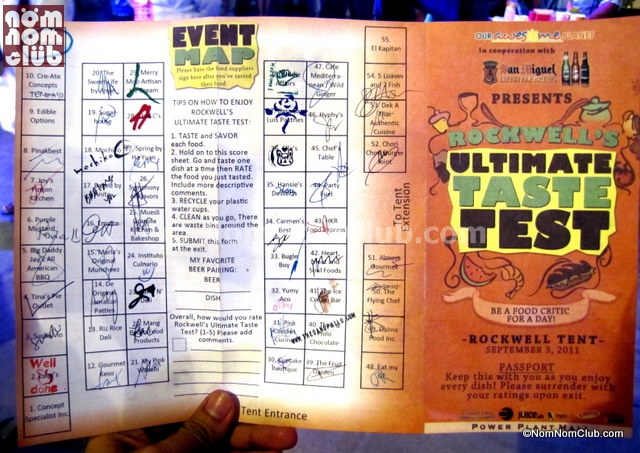 Conquering 51 Food Stalls at the Ultimate Taste Test 6 (2011)