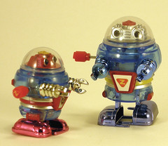 NEW Rascal Robots (Sherry Lou Toys) Tags: up childhood kids toys wind memories robots 70s