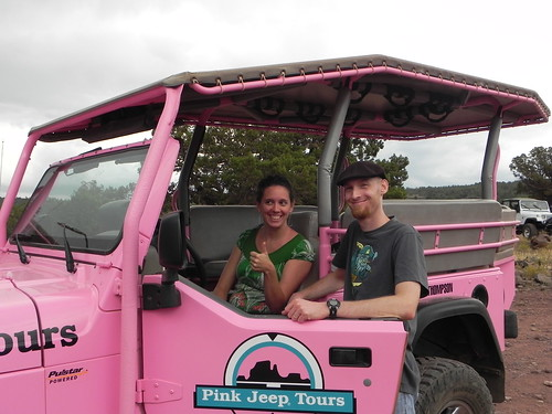 In the Pink Jeep
