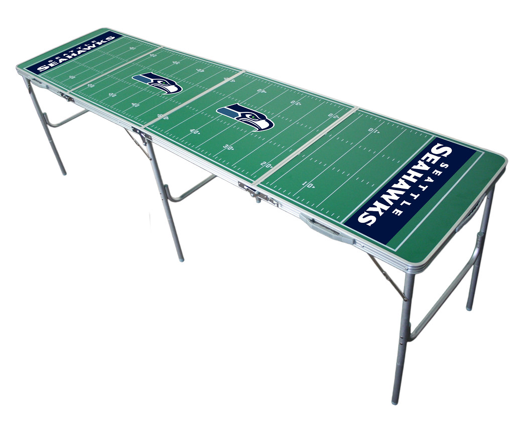 Seattle Seahawks Tailgating, Camping & Pong Table