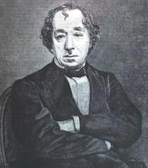 The American Magazine 1881 and Benjamin Disraeli - illustration  - 1