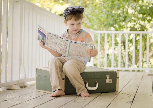 264:365 Traveling Man