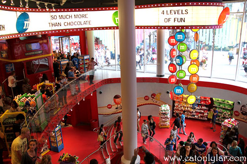 Interior, M&M's World