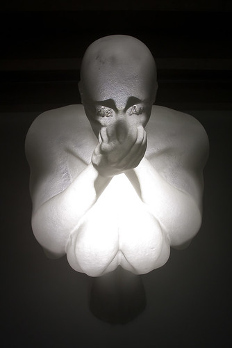 Jauma Plensa - Click Here - Much More Within by escher is still alive