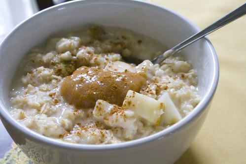 Rhubarb Pear Oatmeal Recipe