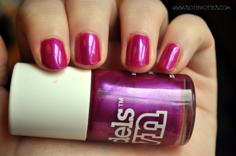 Models Own pink fever nail polish notd