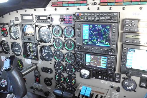Seneca V - Cockpit