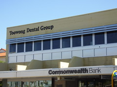 Toowong Dental Clinic After window painting by window revival