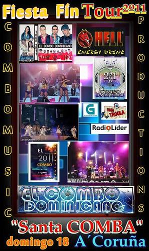 El Combo Dominicano 2011 - cartel fin de xira