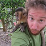 "Rescued Capuchin Monkey at La Senda Verde <a style=""margin-left:10px; font-size:0.8em;"" href=""http://www.flickr.com/photos/14315427@N00/6161582050/"" target=""_blank"">@flickr</a>"