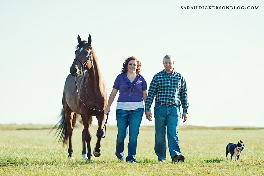 Kansas engagement photography