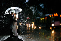 Lemonade out of Lemons (Ryan Brenizer) Tags: wedding rain groom bride nikon centralpark manhattan strobist centralparkboathouse d3s 45mmf28dmicro