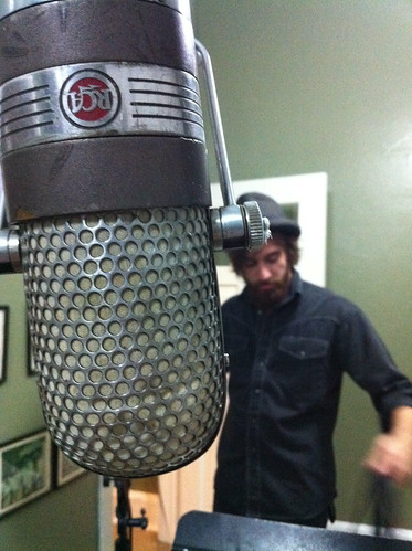 Behind the Mic at Sun Studio, Memphis, Tenn.